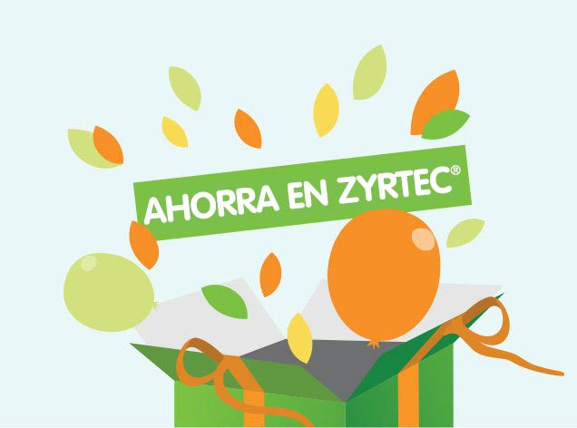 Ahorra dinero, estornuda menos con ahorros de $4 en ZYRTEC®
