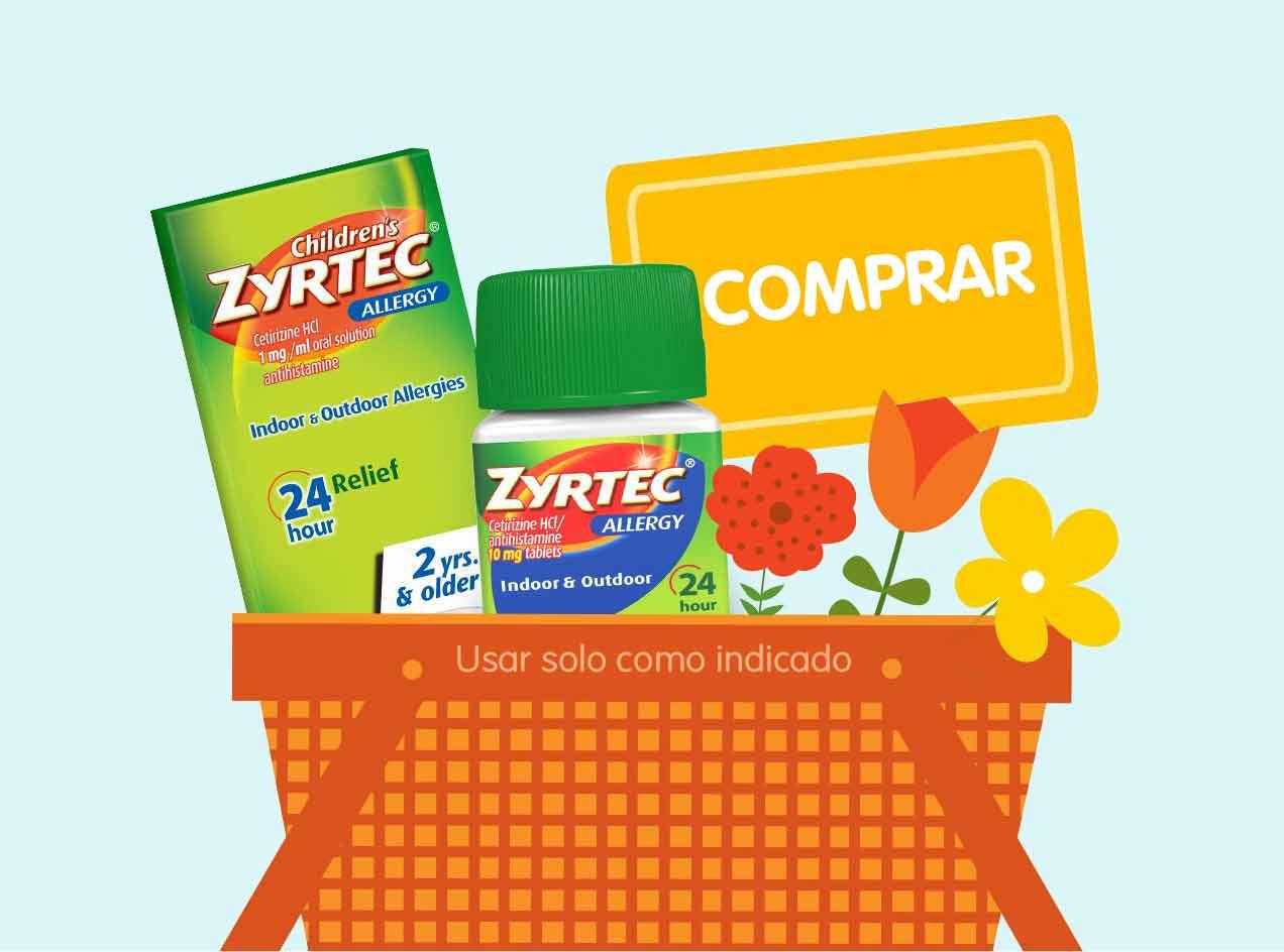 Encuentra alivio con ZYRTEC® y compra ahora