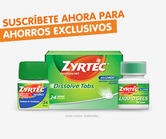 Tratamiento para alergias y descongestivo ZYRTEC-D® | ZYRTEC®